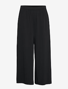 DAY Pesca - wide leg trousers - black