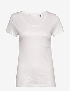 DAY Via - t-shirts - white fog