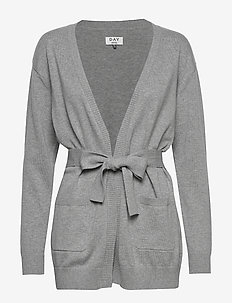 DAY Piazza - cardigans - light grey mel.