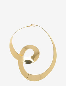 DAY Spiral Necklace - grote halskettingen - rich gold