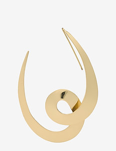 Day Spiral Earrings - rich gold