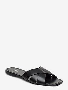 DAY Spring Sandals - platte sandalen - black