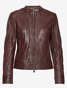 Day Baldizi - leather jackets - bean