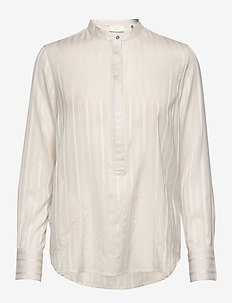 DAY Witty - long sleeved blouses - ivory shade