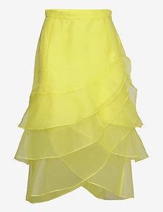 DAY Fairy - spódnice do kolan i midi - sulphur