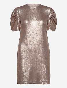 Day Glitter - sequin dresses - smoke