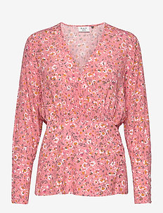 Day Nature - long sleeved blouses - peonia
