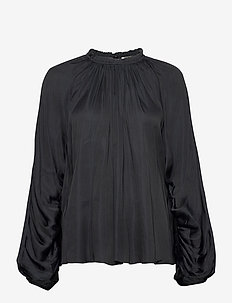 DAY Energy - long sleeved blouses - black