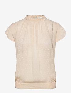 DAY Sound - blouses med korte mouwen - ivory