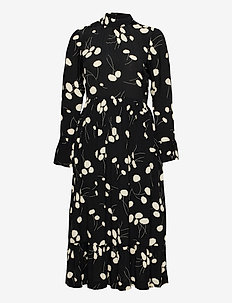 DAY Heart - midi dresses - black