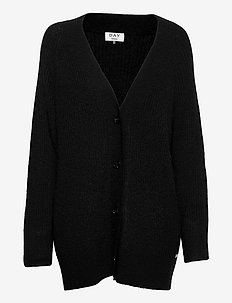 Day Essence Solid - cardigans - black