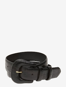 DAY Croco Belt - bælter - black