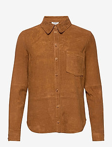 Day Reason - long-sleeved shirts - caramello