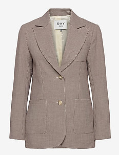 Day Go Out - getailleerde blazers - bark