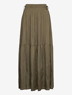 Day Good Times - maxi nederdele - deep olive