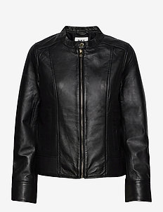 Day Take Care - leather jackets - black