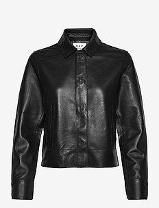DAY Fresh - læderjakker - black