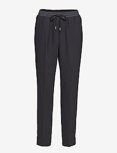 Day Classic Gabardine - straight leg trousers - black
