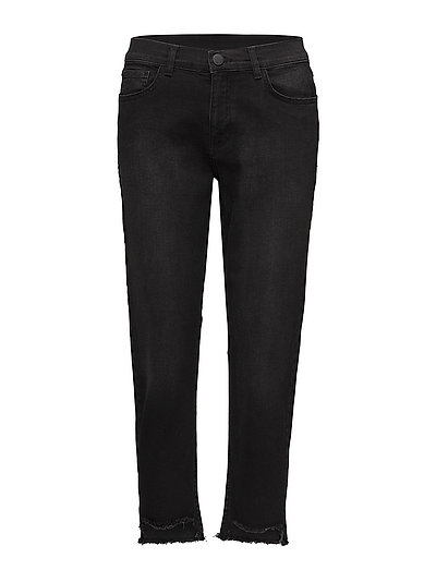 Day Square Cropped - BLACK DENIM