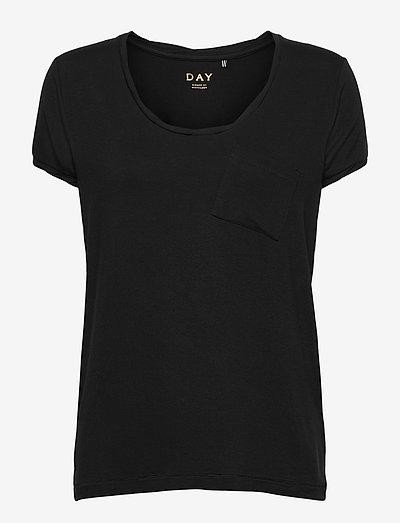DAY New Clean Twist - t-shirts - black
