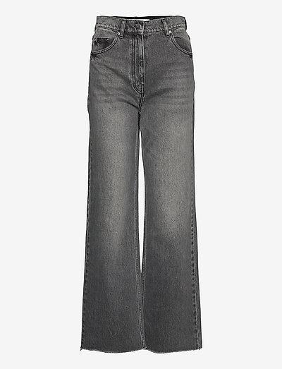 Cai - Wonderful Denim - pantalons larges - black