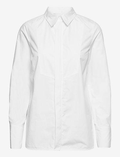 Calisto - Daily Poplin - chemises en jeans - bright white
