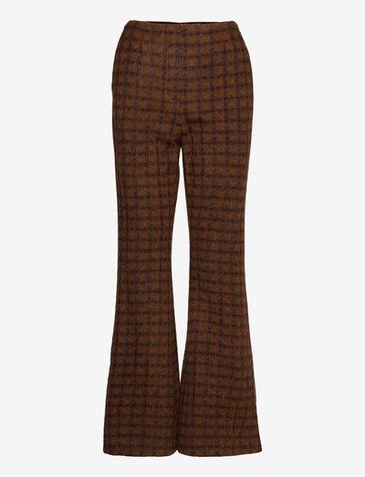 Dalton - Rust Check - pantalons - rubber
