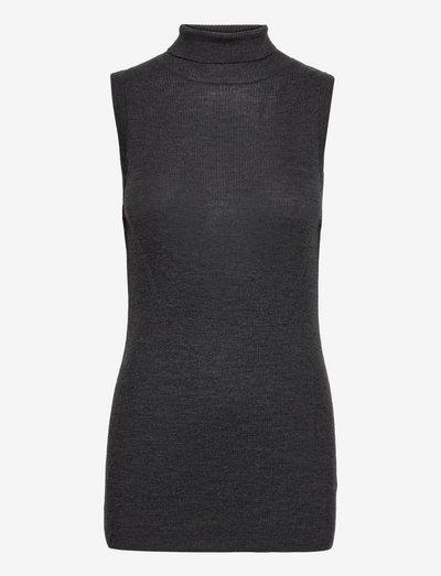 Kyle - Daily Elements - vestes tricot - dark grey melange
