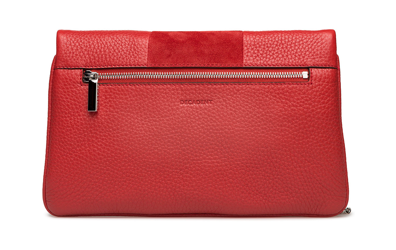Scarlet Clutch Piper Decadent Red Cuir 100 qPU0EgW
