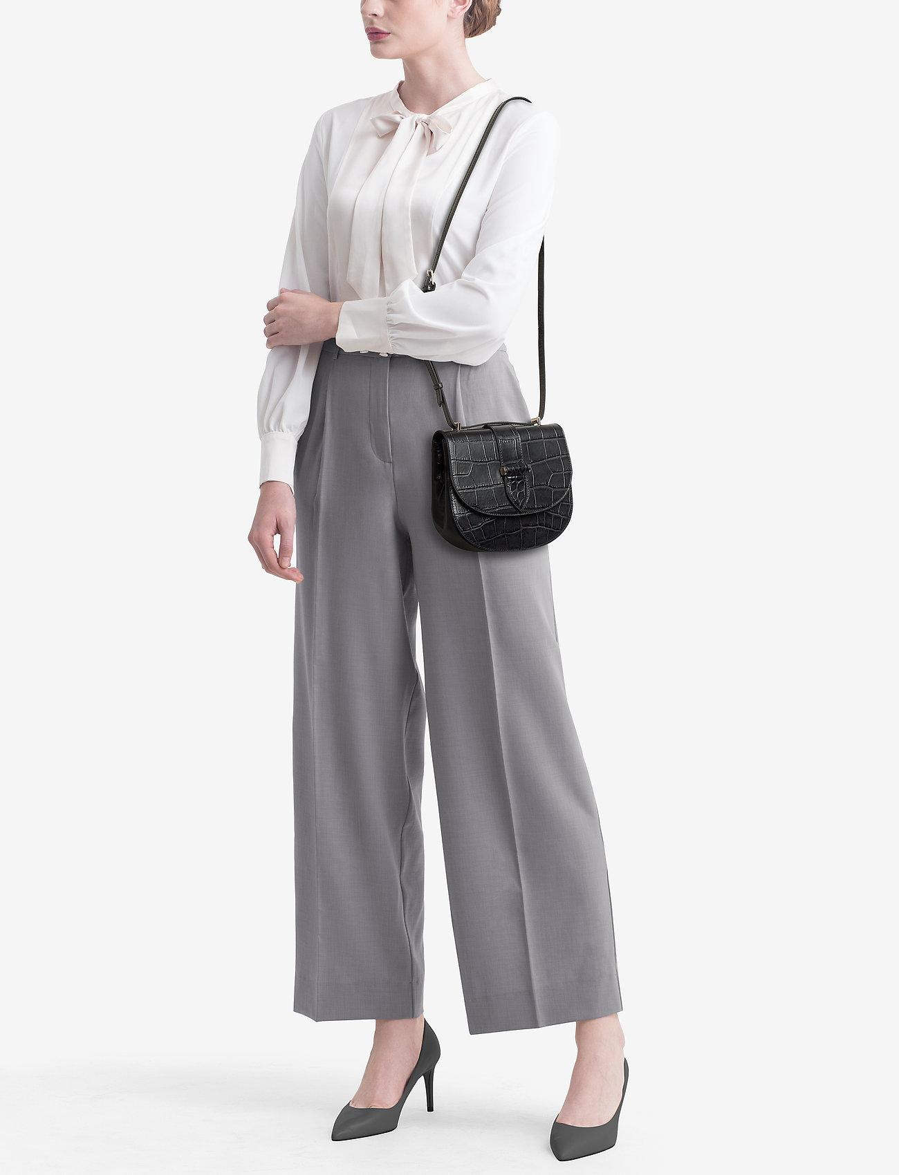 Decadent Kim satchel bag - CROCO BLACK