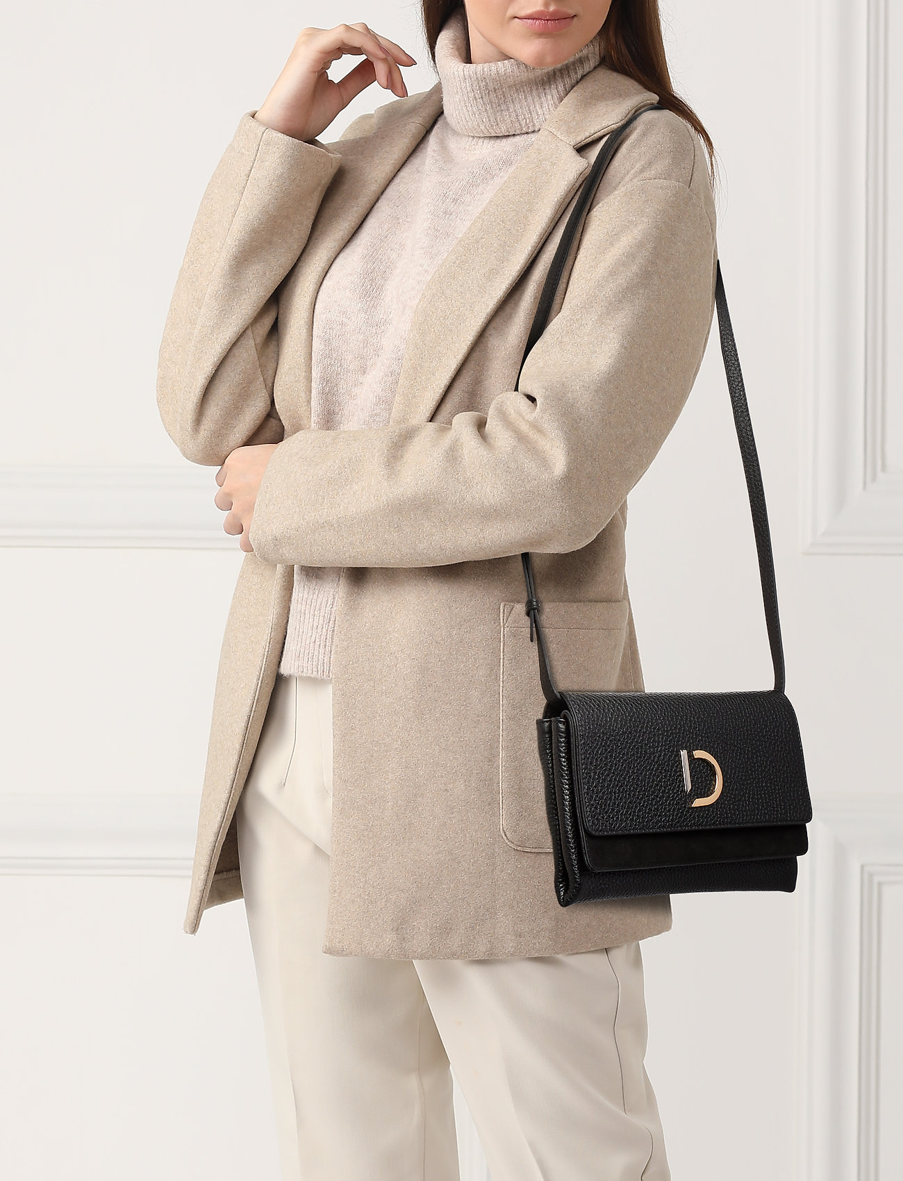 Decadent - Kristin flap bag - portés travers - black