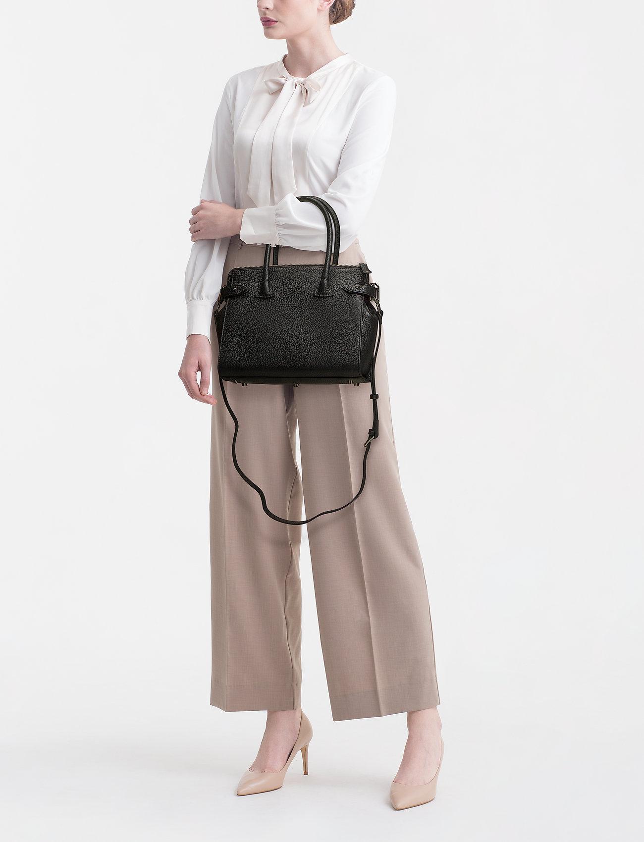 Decadent - X-small Shopper - top handle tasker - black