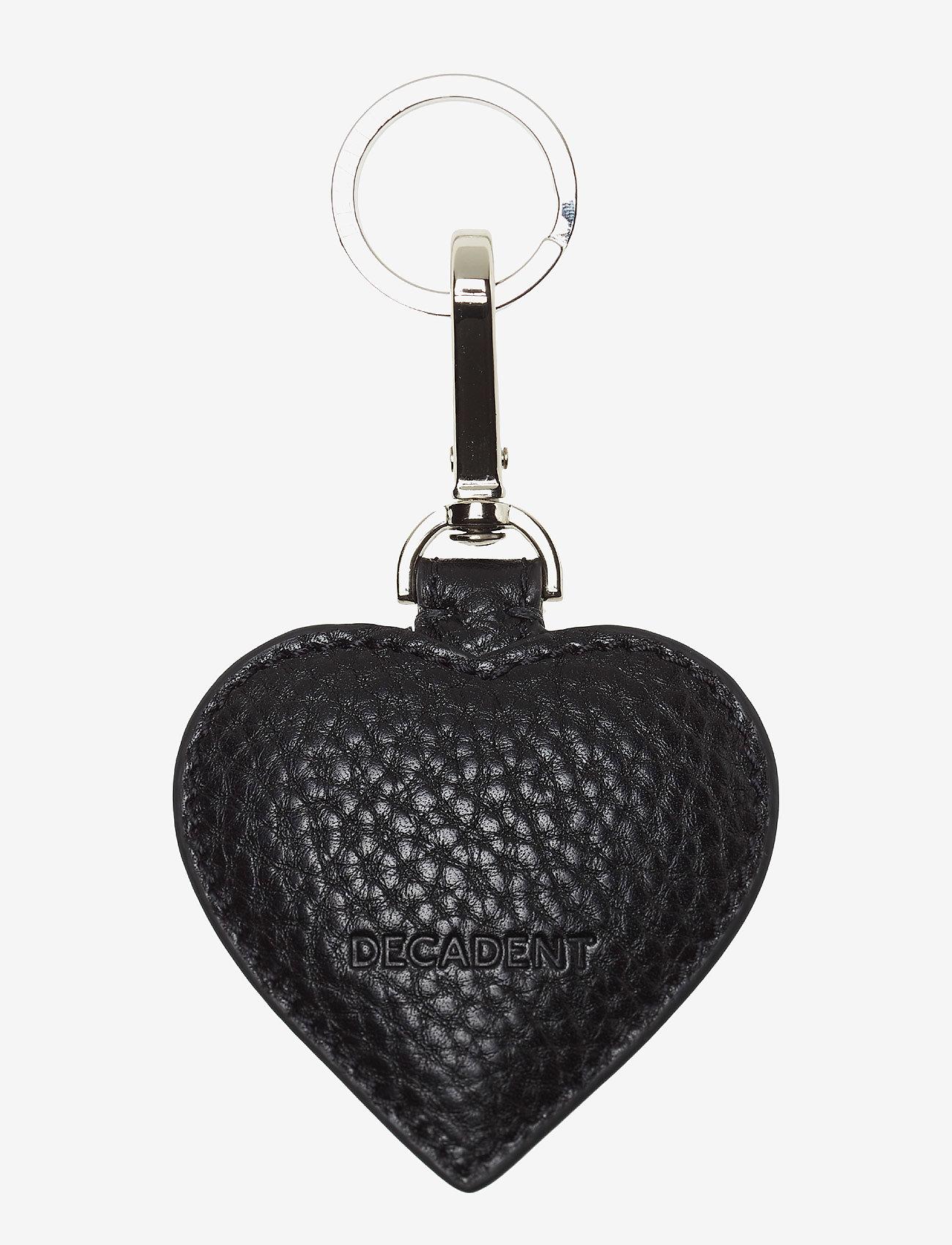Decadent - Heart keyring - key rings - black - 1