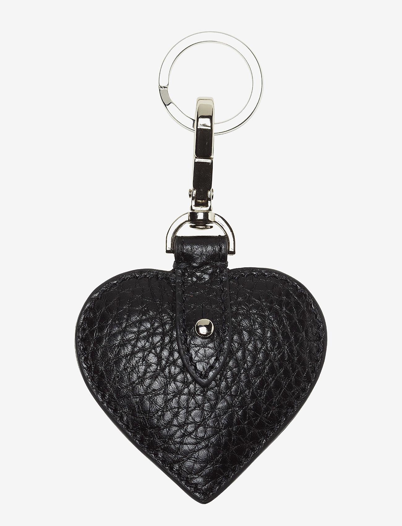 Decadent - Heart keyring - key rings - black - 0