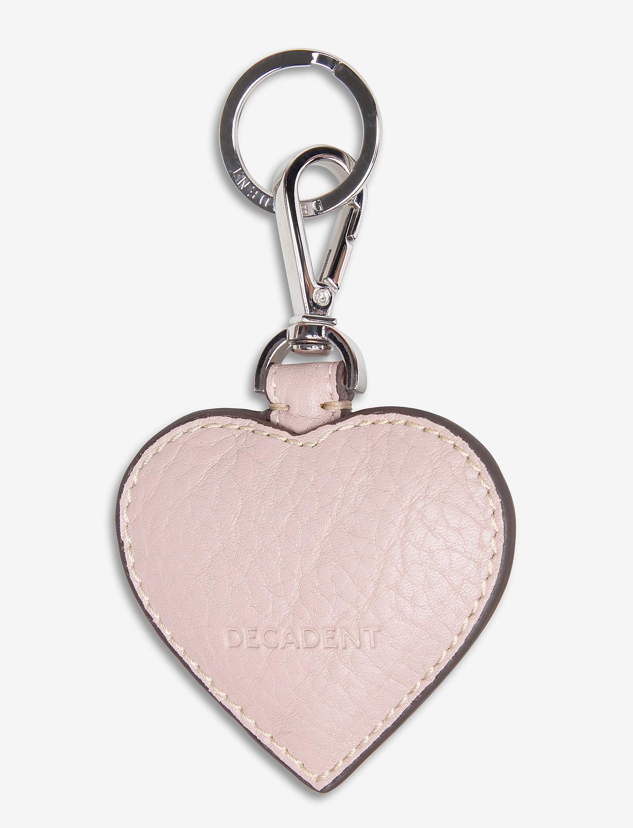 Decadent - Heart keyring - schlüsselringe - rose - 0
