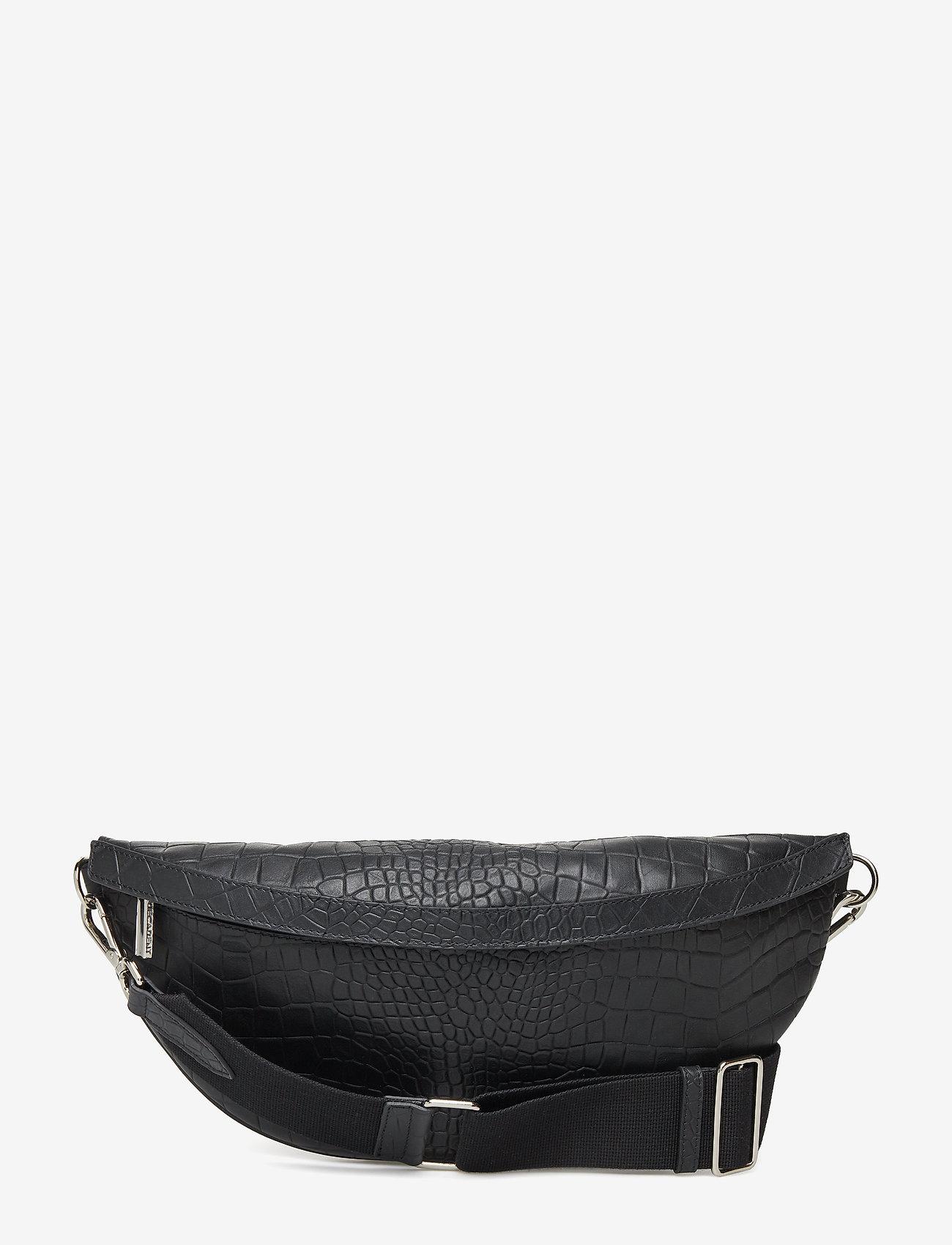 Decadent - Paris bumbag - belt bags - alligator black - 0