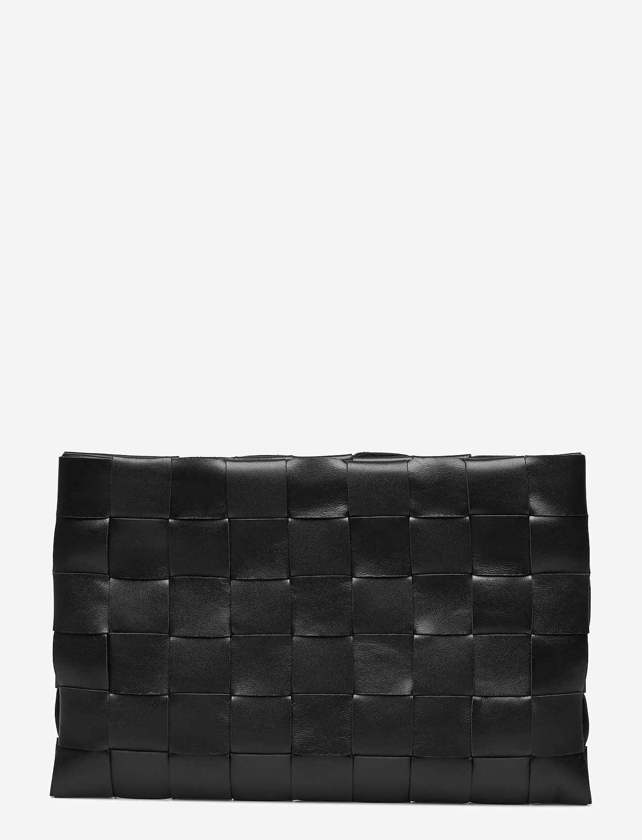 Decadent - Dolores woven clutch - clutches - black - 0