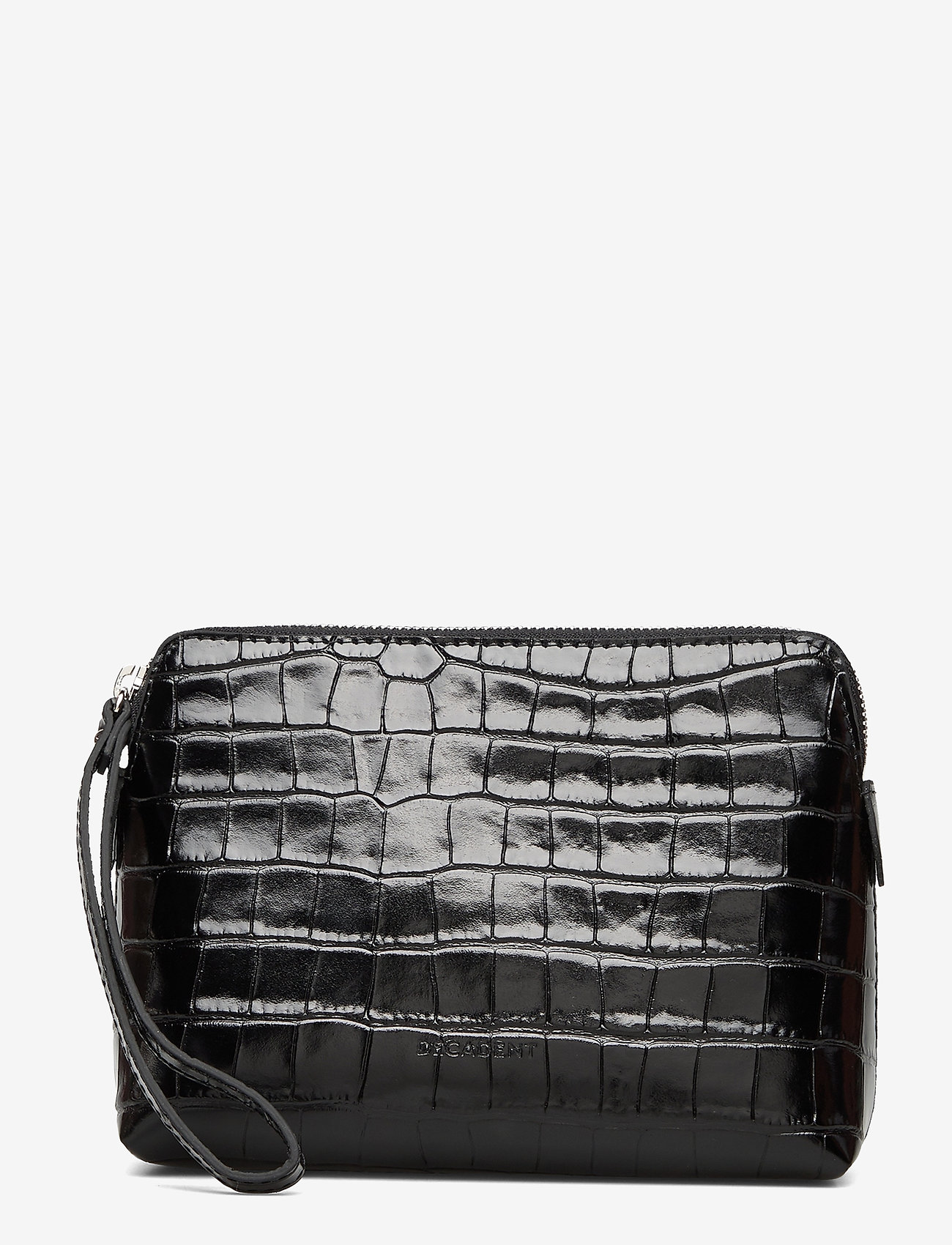 Decadent - Hannah makeup purse - clutches - croco black - 0