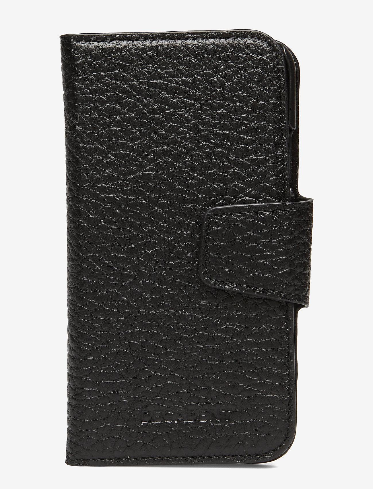 Decadent - Lea iPhone X/Xs flip cover - mobile accessories - black - 0