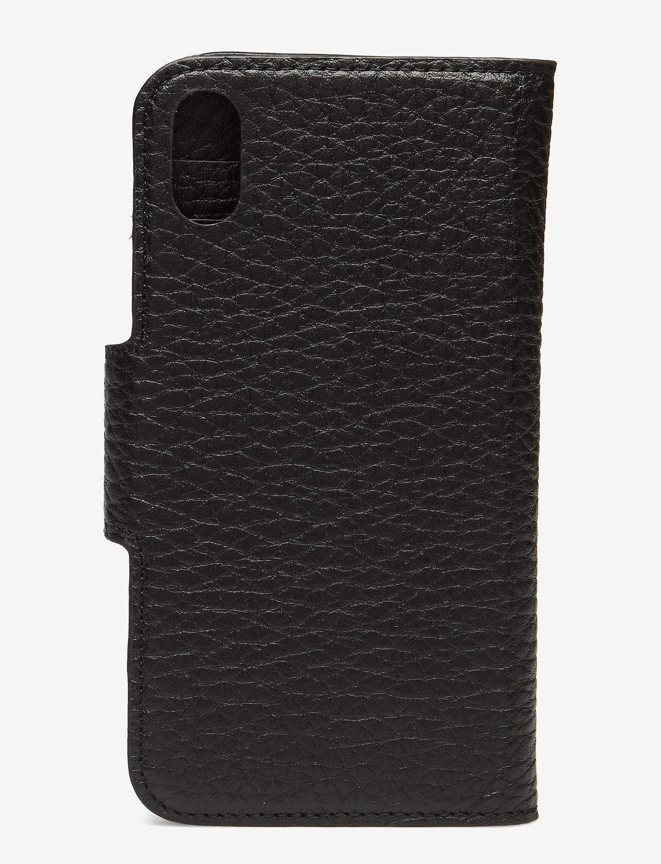 Decadent - Lea iPhone X/Xs flip cover - mobile accessories - black - 1