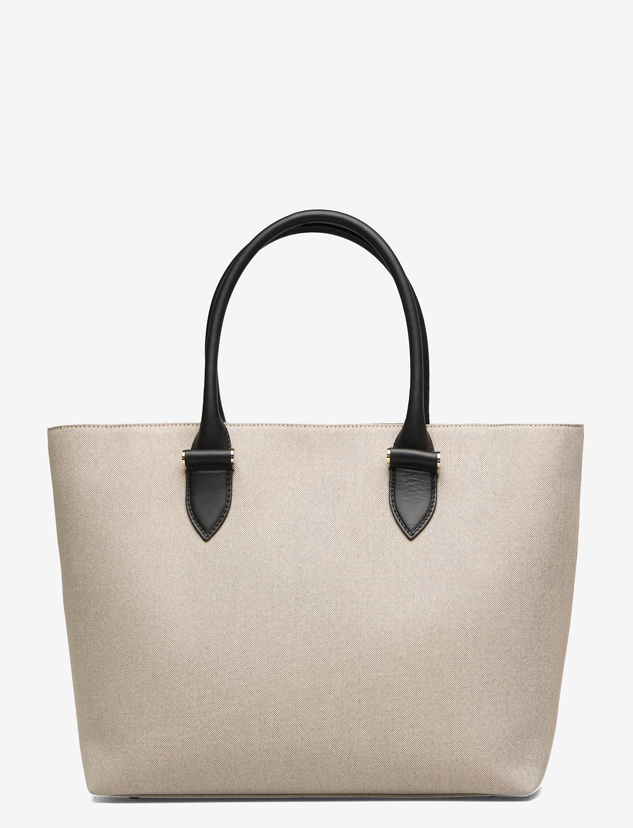 Decadent - Terri canvas tote - fashion shoppers - black
