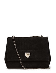 Eira medium bag - SUEDE BLACK