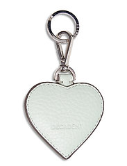 Heart keyring - MINT GREEN