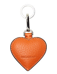 Heart keyring - ORANGE
