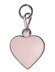 Heart keyring - ROSE