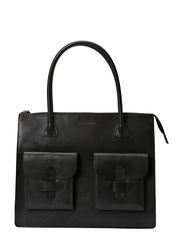 Working Bag Two Pocket - BLACK