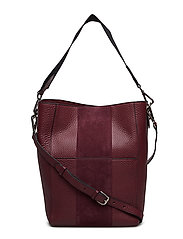 Naomi bucket bag - OXBLOOD