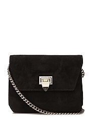 Cleva small pouch - SUEDE BLACK