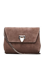 Cleva small pouch - SUEDE NOUGAT