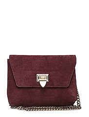 Cleva small pouch - SUEDE OXBLOOD